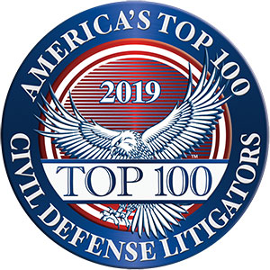 Americas Top 100 civil defense litigations 2019